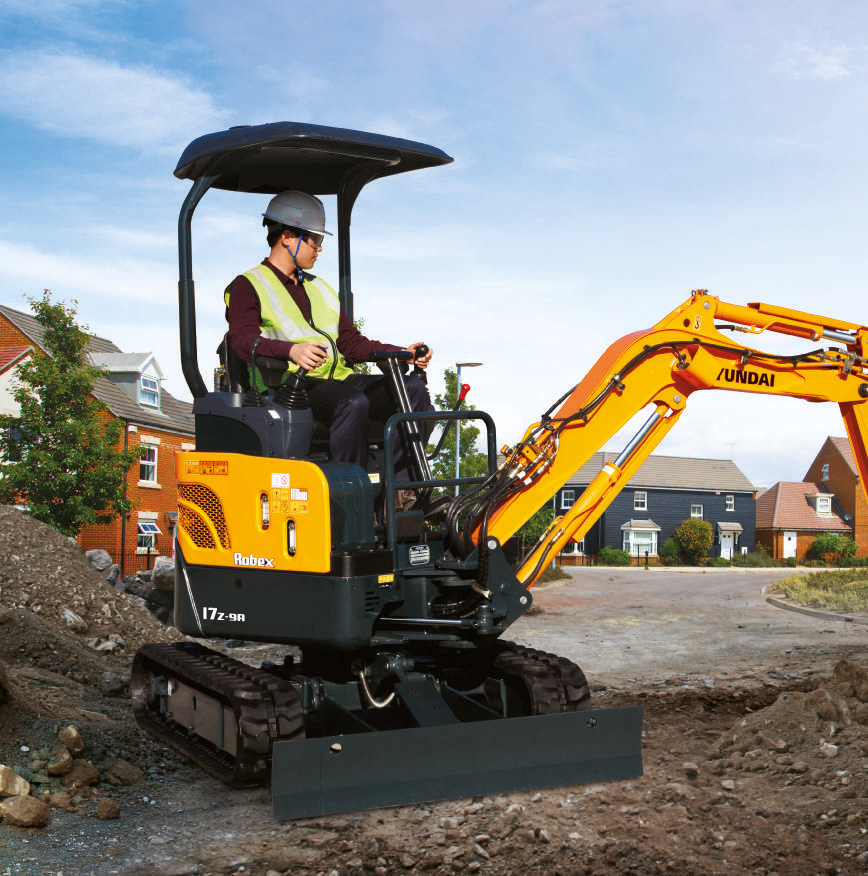 Hyundai Mini Excavators Find Out All The Technical
