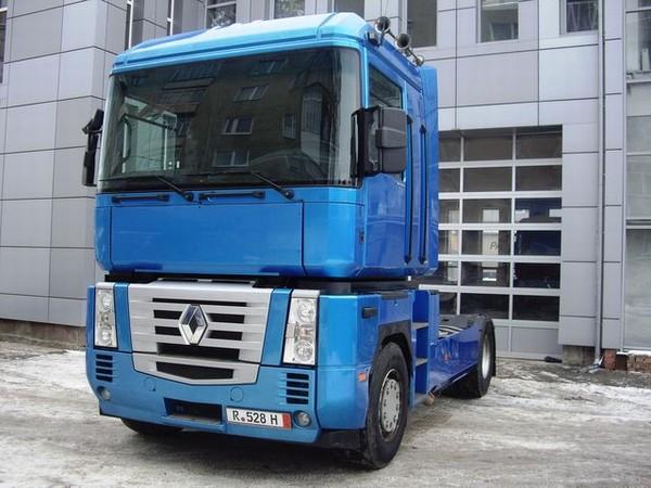 Renault Magnum. Renault magnum tractor unit
