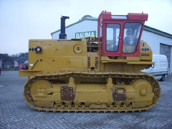 Komatsu D 355 C (09) pipelayer