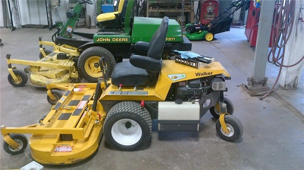 Used Walker Lawn Mowers