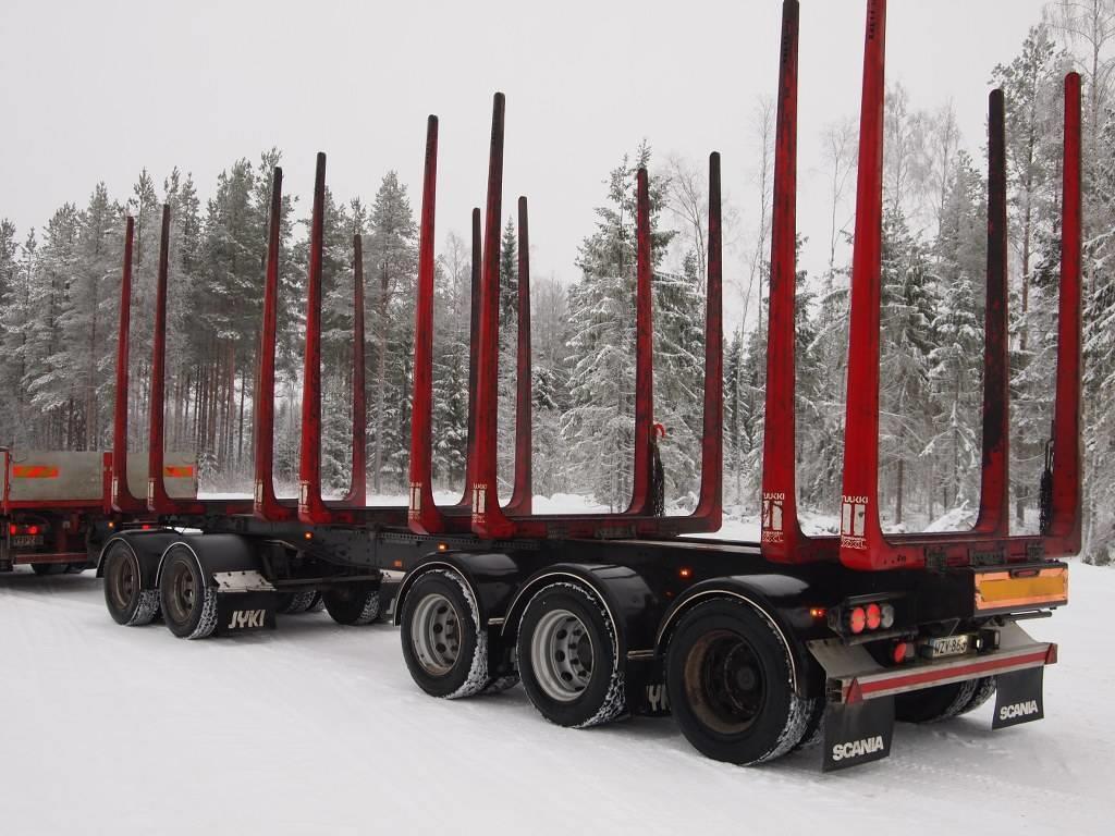 Jyki 5-akselinen puutavaravaunu