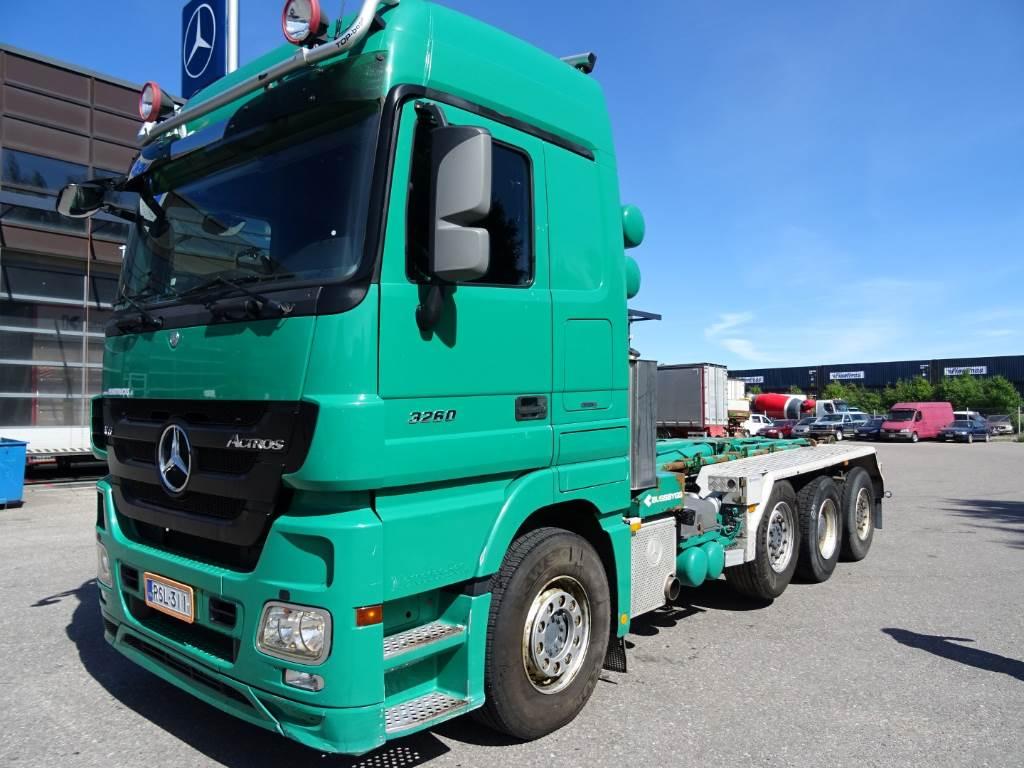 Mercedes benz actros 3260l 8x2 4500 year 2009 tow for Mercedes benz actros usa