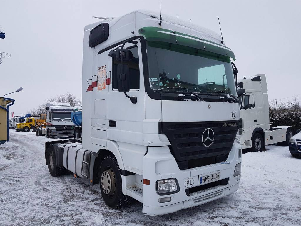 Used mercedes benz actros 1844 klima intarder eps tractor for Mercedes benz astros