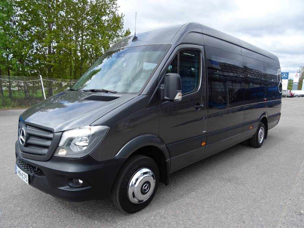 used mercedes benz sprinter 516cdi 16 1 paikkaa turistivarustus coach year 2016 price 79 715. Black Bedroom Furniture Sets. Home Design Ideas