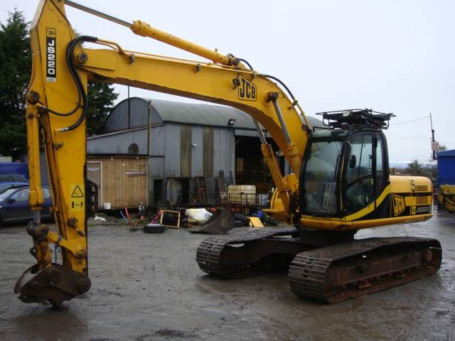 Jcb Js220lc Dismantling For Parts Only Js 220 Lc Co