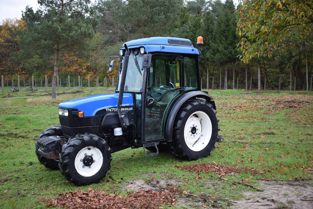 New Holland TN 75 N, Belgium, $20,732, 2002- tractors for sale