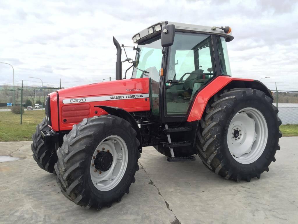 massey ferguson 6270 preis baujahr 1999 gebrauchte traktoren gebraucht kaufen und. Black Bedroom Furniture Sets. Home Design Ideas