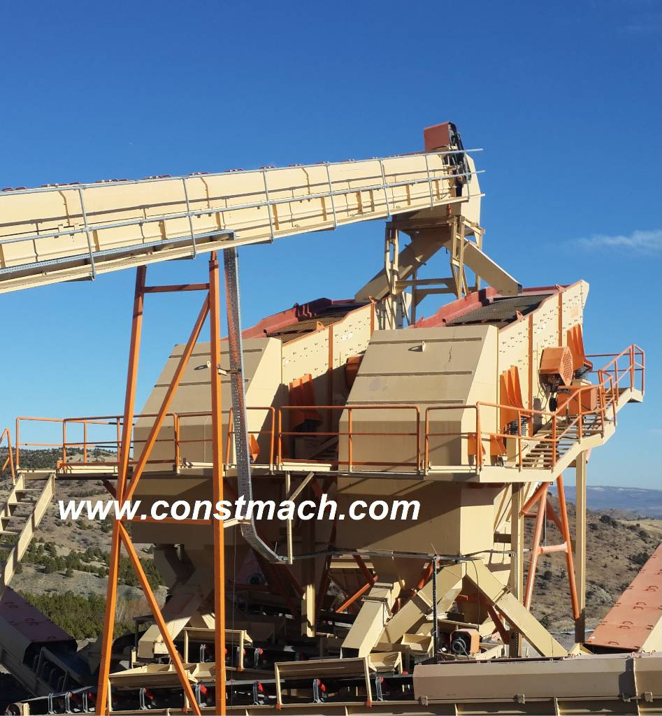 Constmach mm vibrating screen