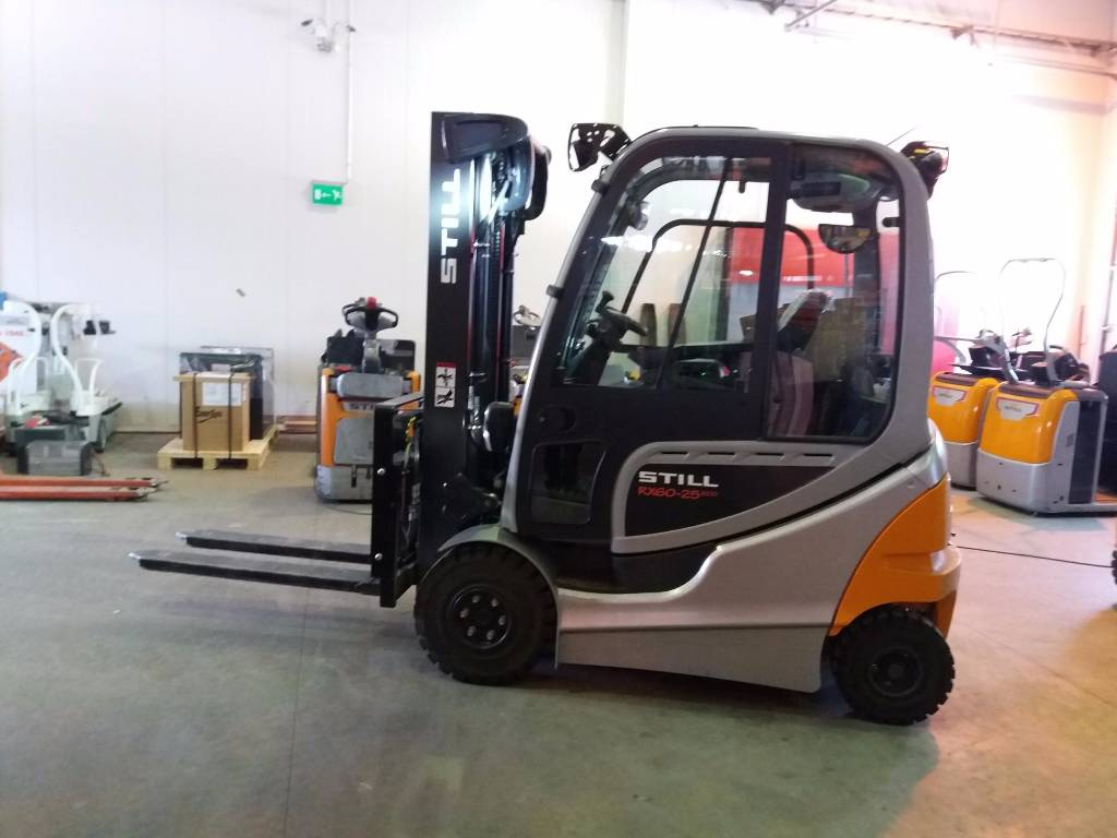 Used still rx60 25 600 electric forklift trucks year for Electric forklift motor for sale