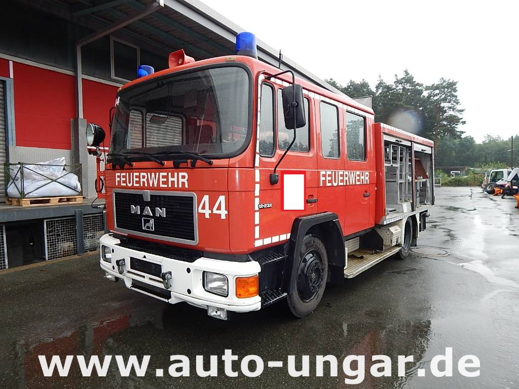 Used Fire Trucks For Sale >> Used MAN 12.232 LF16 1260Liter Wasser Feuerwehr fire trucks Year: 1990 Price: US$ 11,258 for ...