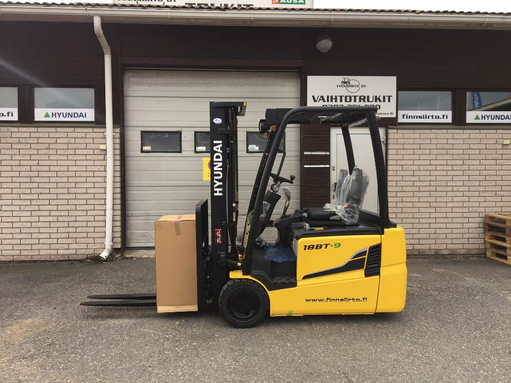 Used hyundai 18bt 9 electric forklift trucks year 2017 for Electric forklift motor for sale