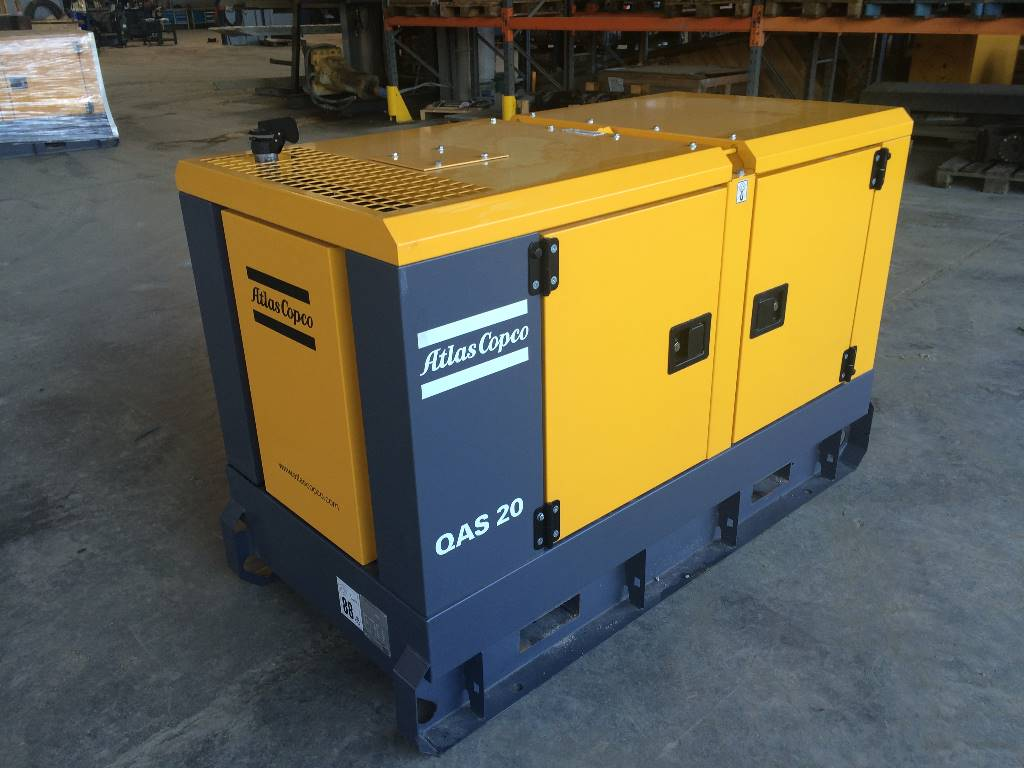 Used Atlas Copco QAS 20 diesel Generators Year: 2014 for sale - Mascus USA
