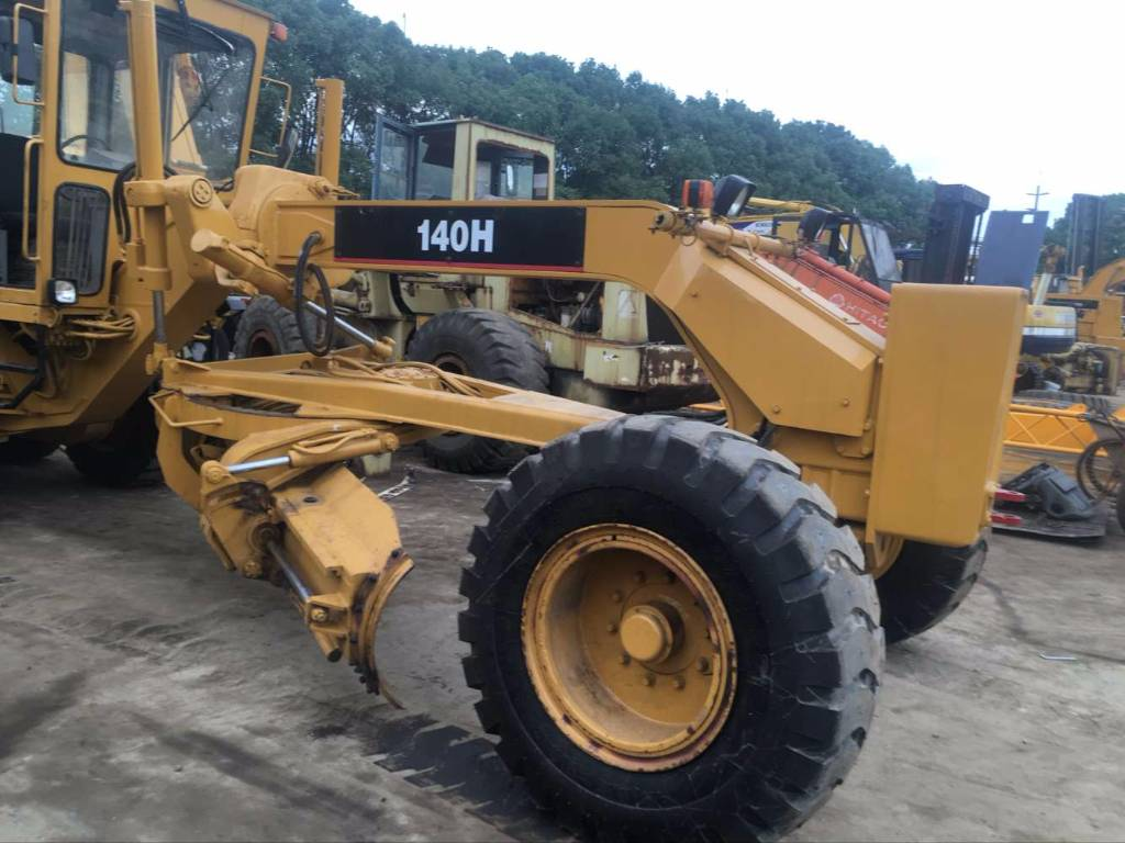 used caterpillar caterpillar 140h motor grader for sale