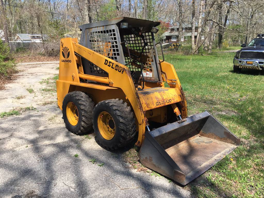 Daewoo Skid Steer manual