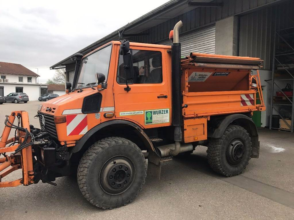 Used mercedes benz unimog u 1600 work trucks municipal for Mercedes benz unimog