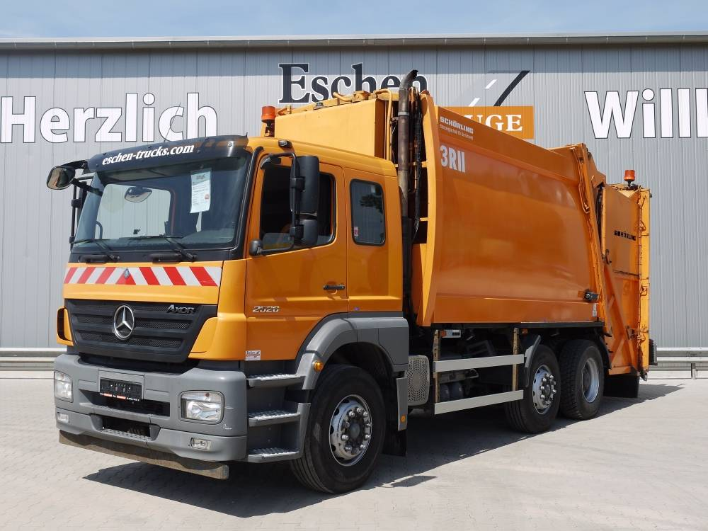 Used mercedes benz 2528 l 6x2 obj nr 0818 17 garbage for Used mercedes benz trucks for sale in germany