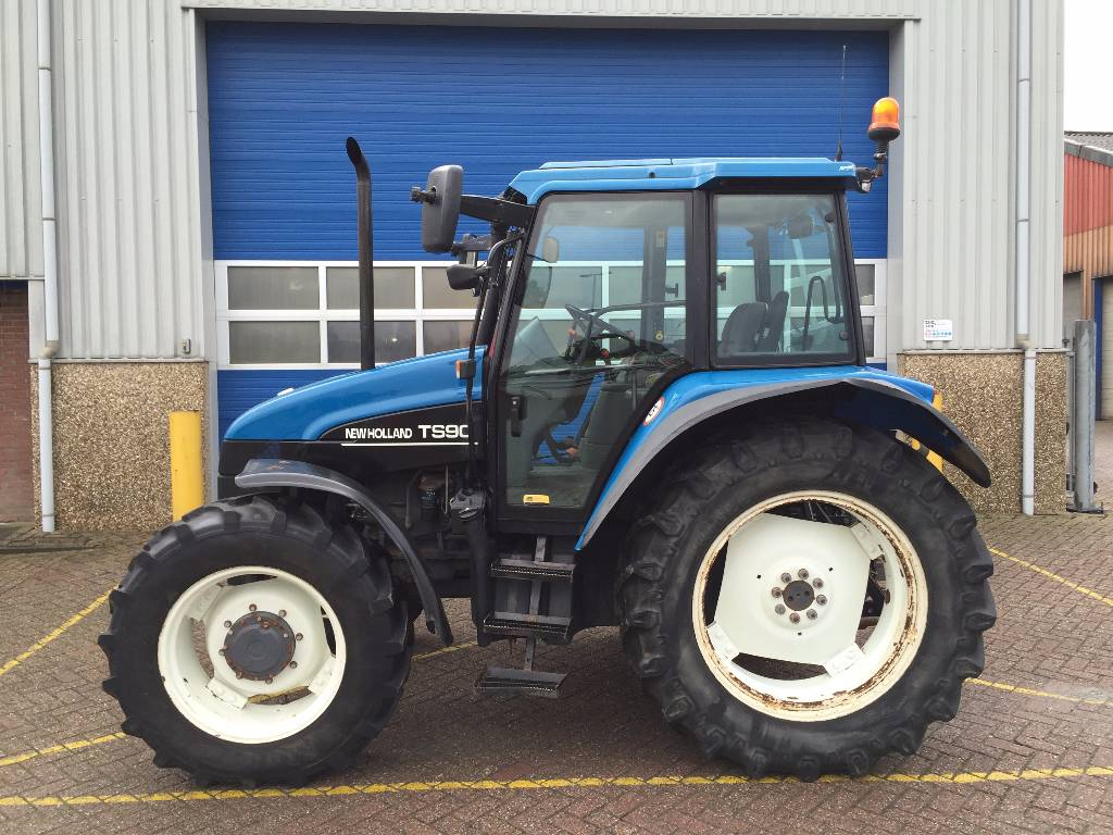 New Holland Tractors Used : Used new holland ts tractors year for sale