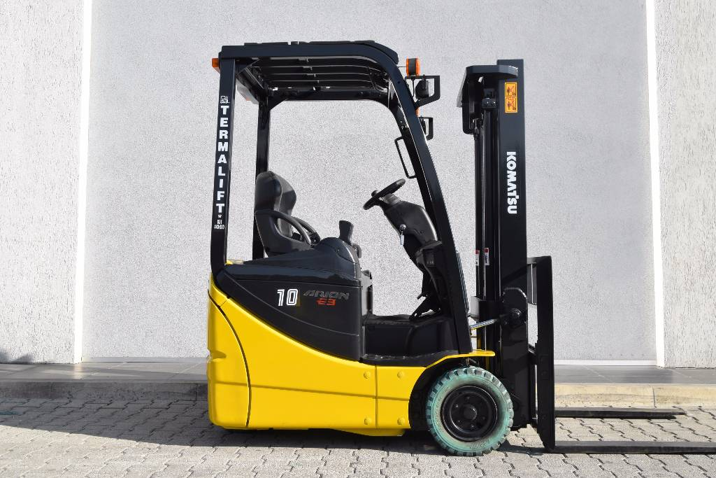 Used komatsu fb10m 12 electric forklift trucks year 2009 for Forklift electric motor for sale