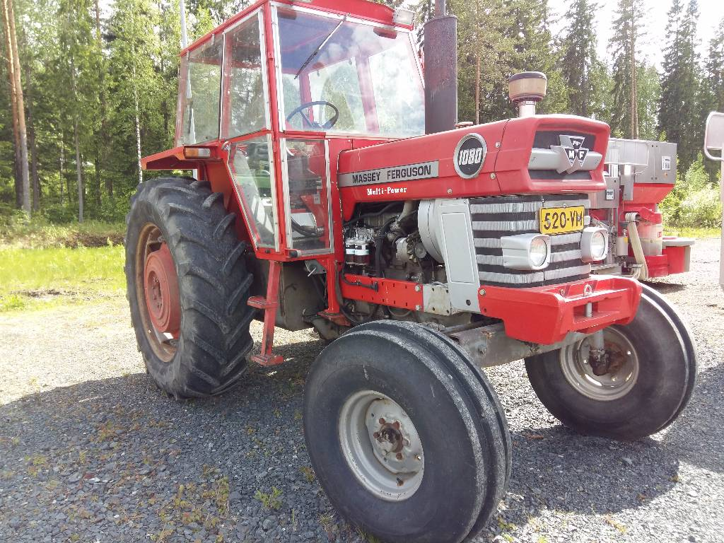 Massey Ferguson 1080 MultiPower - Tractors, Price: £8,830, Year of manufacture: 1974 - Mascus UK