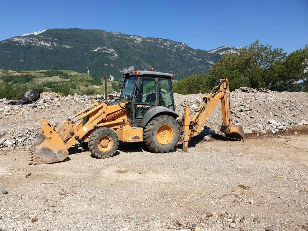 Case 580 SR - Year of manufacture: 2005 - Backhoe loaders