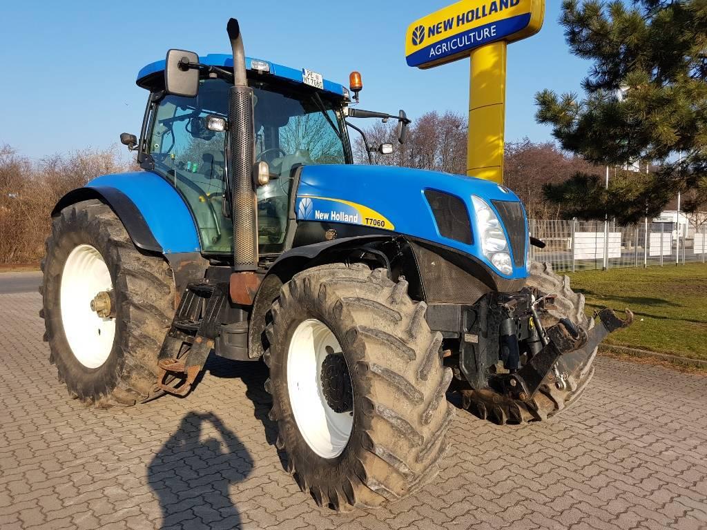 New Holland T7060 til salg, Årgang: 2007 - Brugte New Holland T7060 Brugte traktorer - Mascus ...