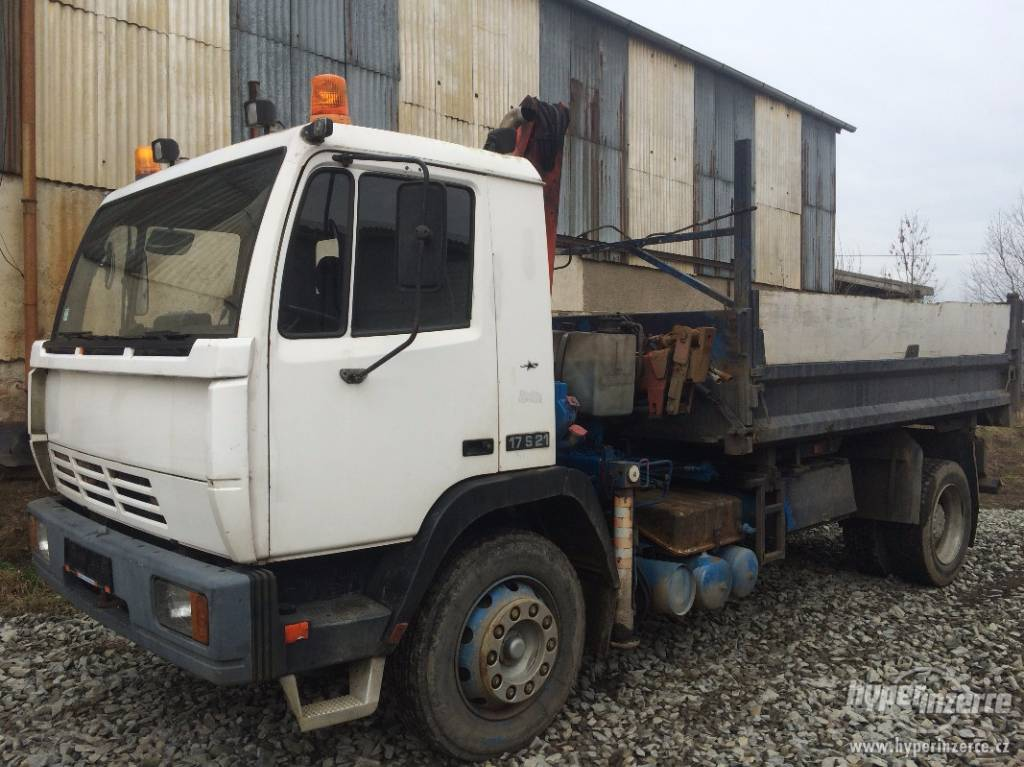 used steyr 17s21 dump trucks year 1993 price 13 085 for sale mascus usa. Black Bedroom Furniture Sets. Home Design Ideas