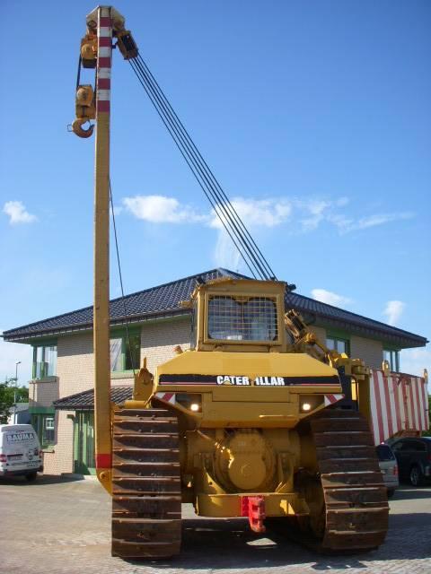 Caterpillar 589  105 t Hubkraft 8x MIETE / RENTAL Pipelayer