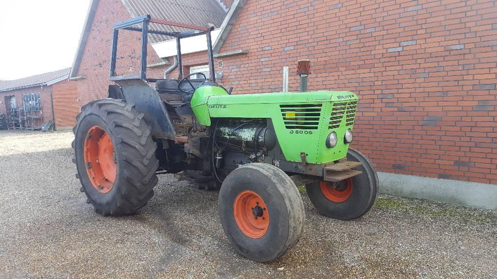 Deutz 8006 - Year: 1980 - Tractors - ID: 1517E826 - Mascus USA