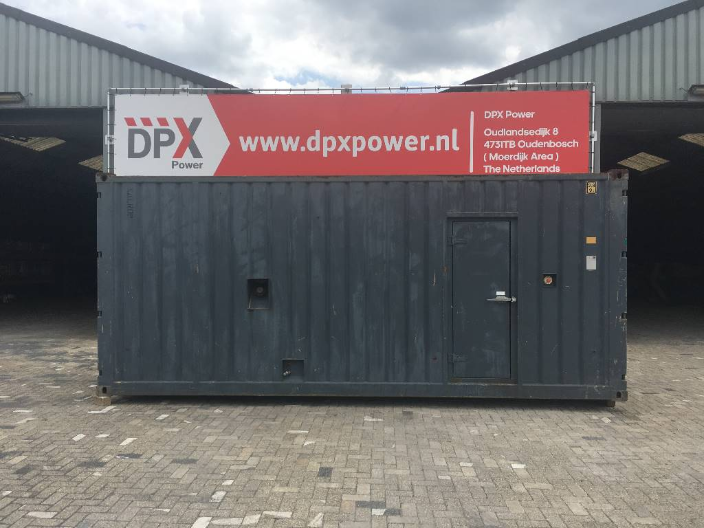 Used container 20ft generator container other year 2005 for Construction container