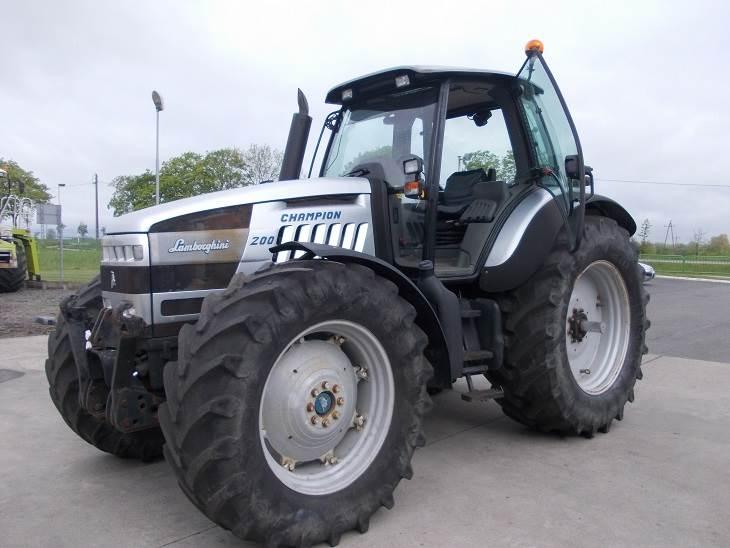 Tracteur lamborghini prix