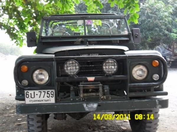 land rover -88-petrol-series-3, preis: 6.143 €, baujahr: 1988, pkws