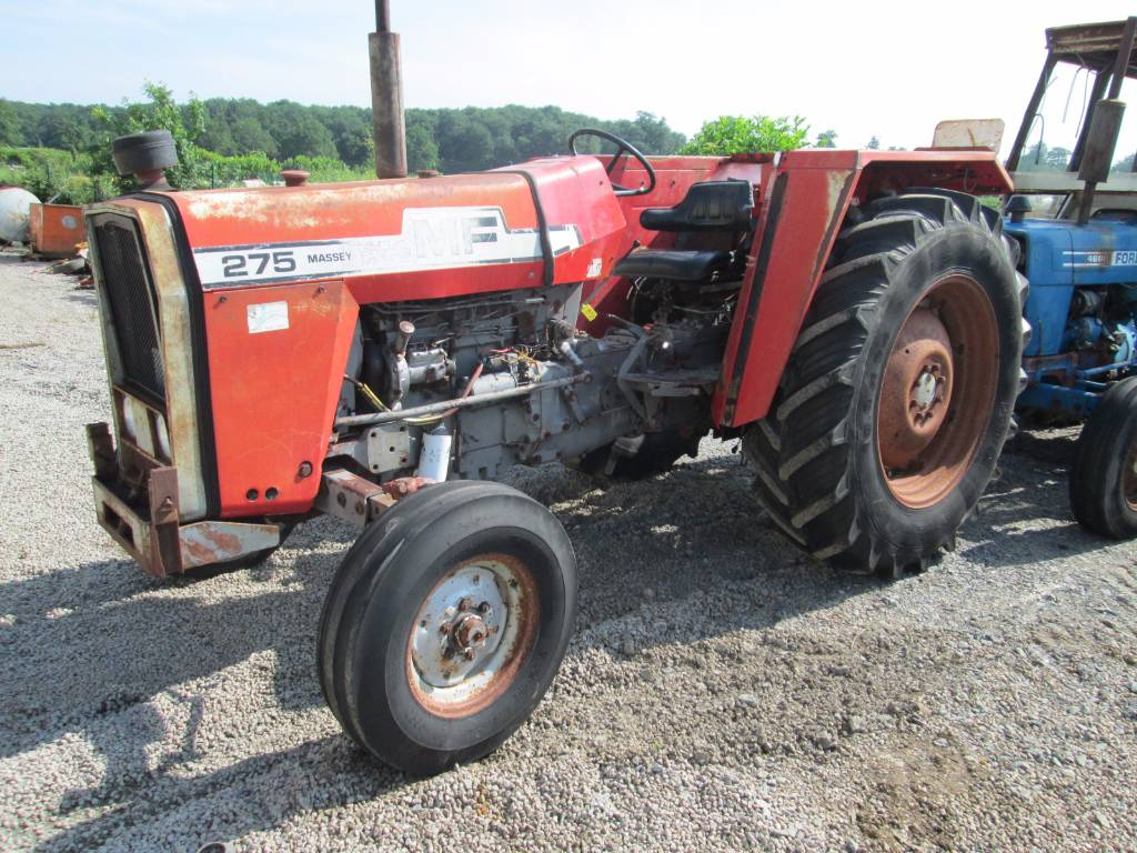 Mf 275 Tractor Data : Used massey ferguson tractors year for sale