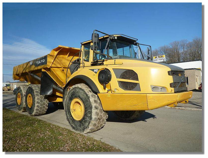 Used Volvo -a40f articulated Dump Truck (ADT) Year: 2011 for sale - Mascus USA