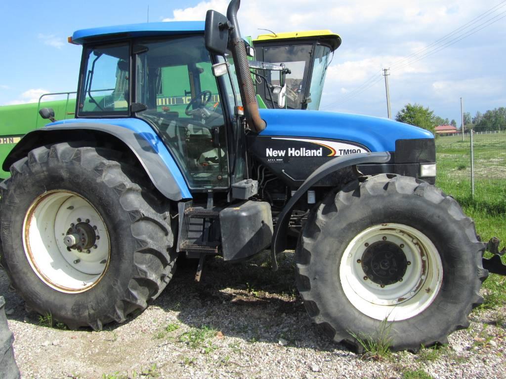 new holland tm 190 preis baujahr 2003 gebrauchte traktoren gebraucht kaufen und. Black Bedroom Furniture Sets. Home Design Ideas