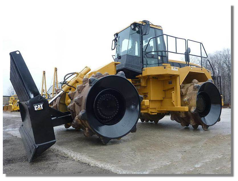Cat 826g Compactor : Caterpillar g waste compactors year of manufacture