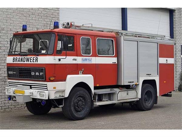 daf 1800 occasion ann e d 39 immatriculation 1987 camion de pompier daf 1800 vendre mascus. Black Bedroom Furniture Sets. Home Design Ideas