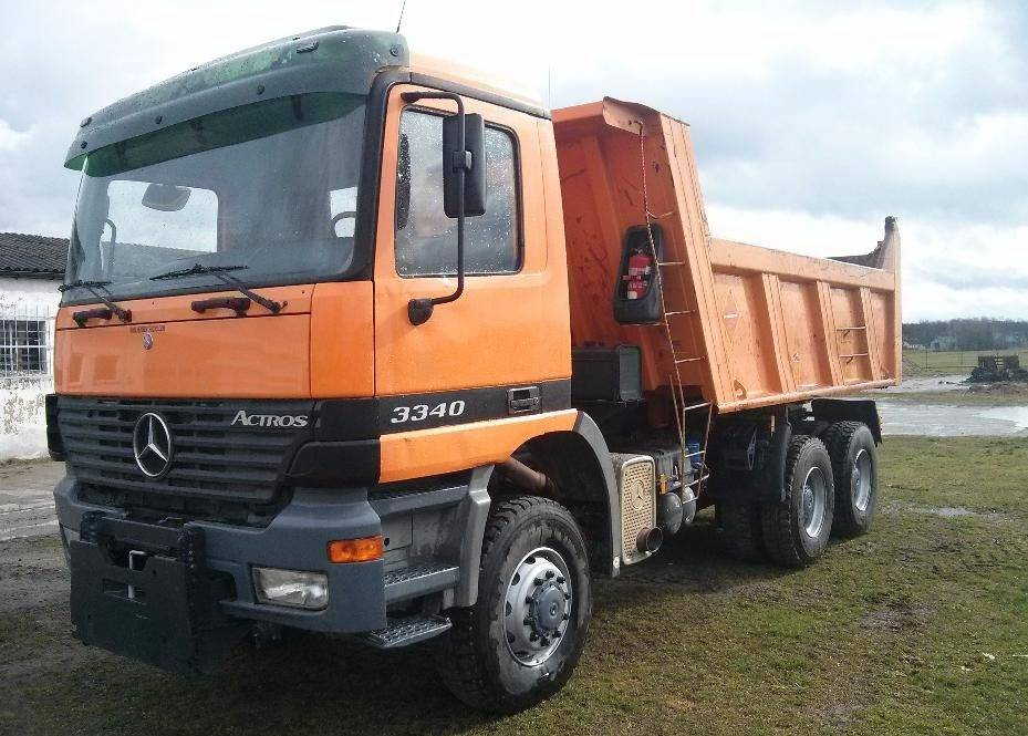 Used mercedes benz 3340 dump trucks year 2003 price for Mercedes benz dump truck