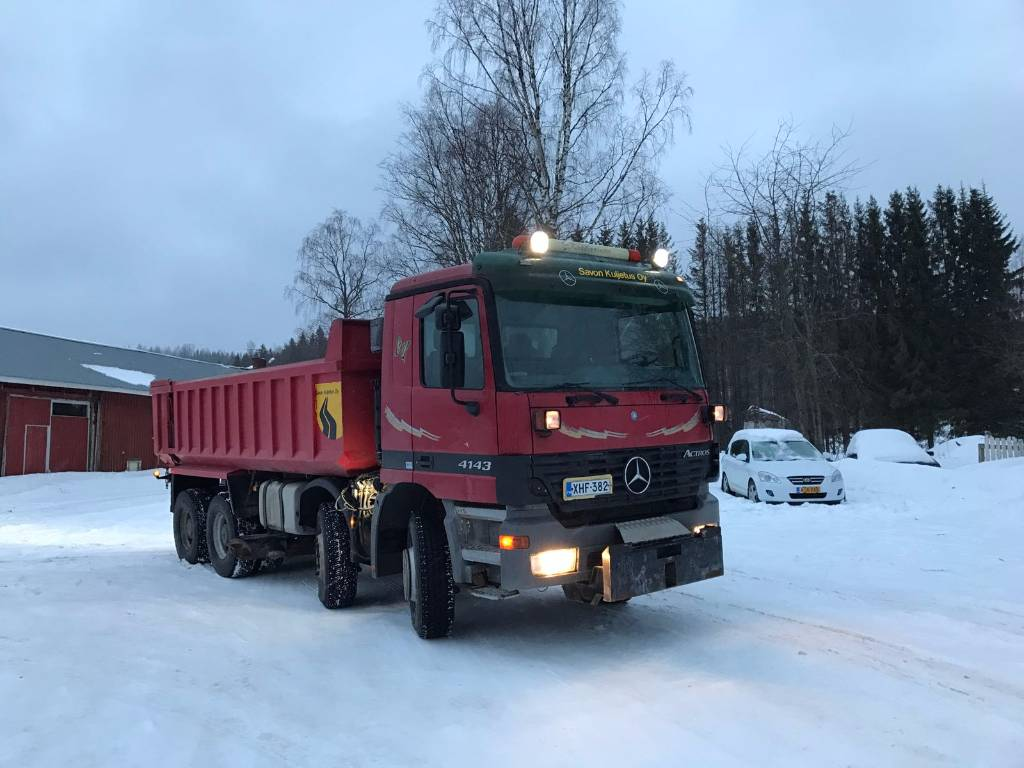 Used mercedes benz arocs 4143 k dump trucks year 2003 for Used mercedes benz tipper trucks for sale in germany