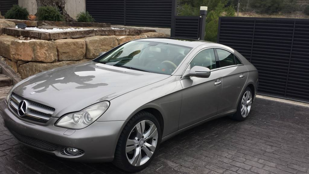 used mercedes benz cls320 autom tic second hand luxury