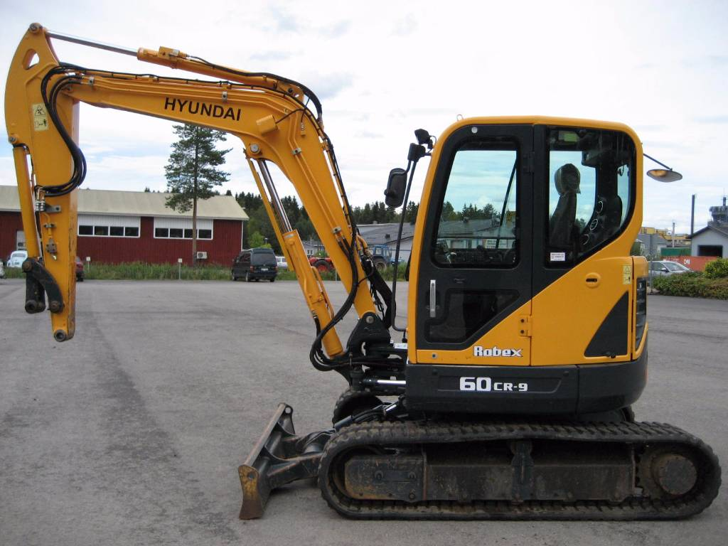used hyundai r60cr 9 mini excavators. Black Bedroom Furniture Sets. Home Design Ideas