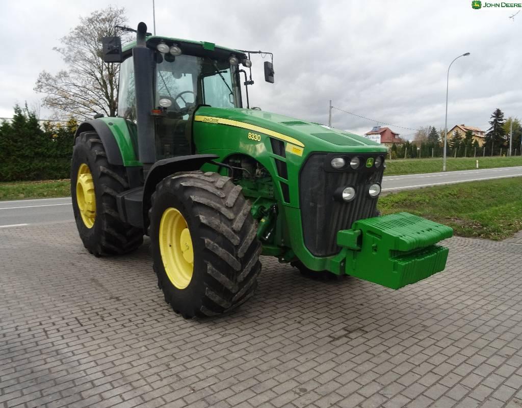 john deere 8330 preis baujahr 2007 gebrauchte traktoren gebraucht kaufen und. Black Bedroom Furniture Sets. Home Design Ideas