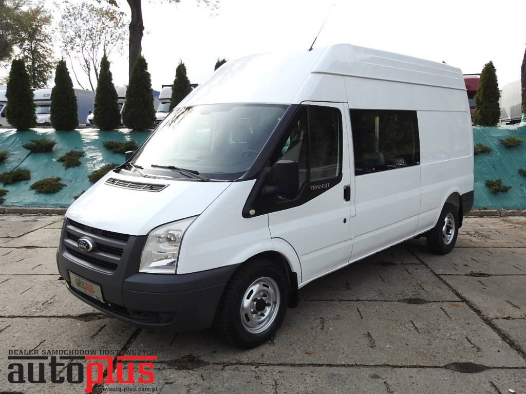 Ford Transit Van >> Used Ford TRANSIT FURGON BRYGADOWY 6 MIEJSC panel vans Year: 2011 Price: US$ 10,358 for sale ...