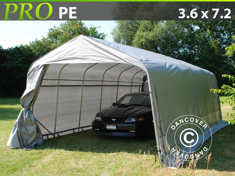 Used Dancover Portable Garage 3 6x7 2x2 68m Lagertelt