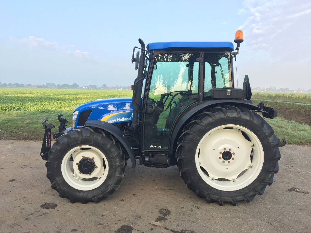 New Holland Tractors Used : Used new holland tn da tractors year for sale