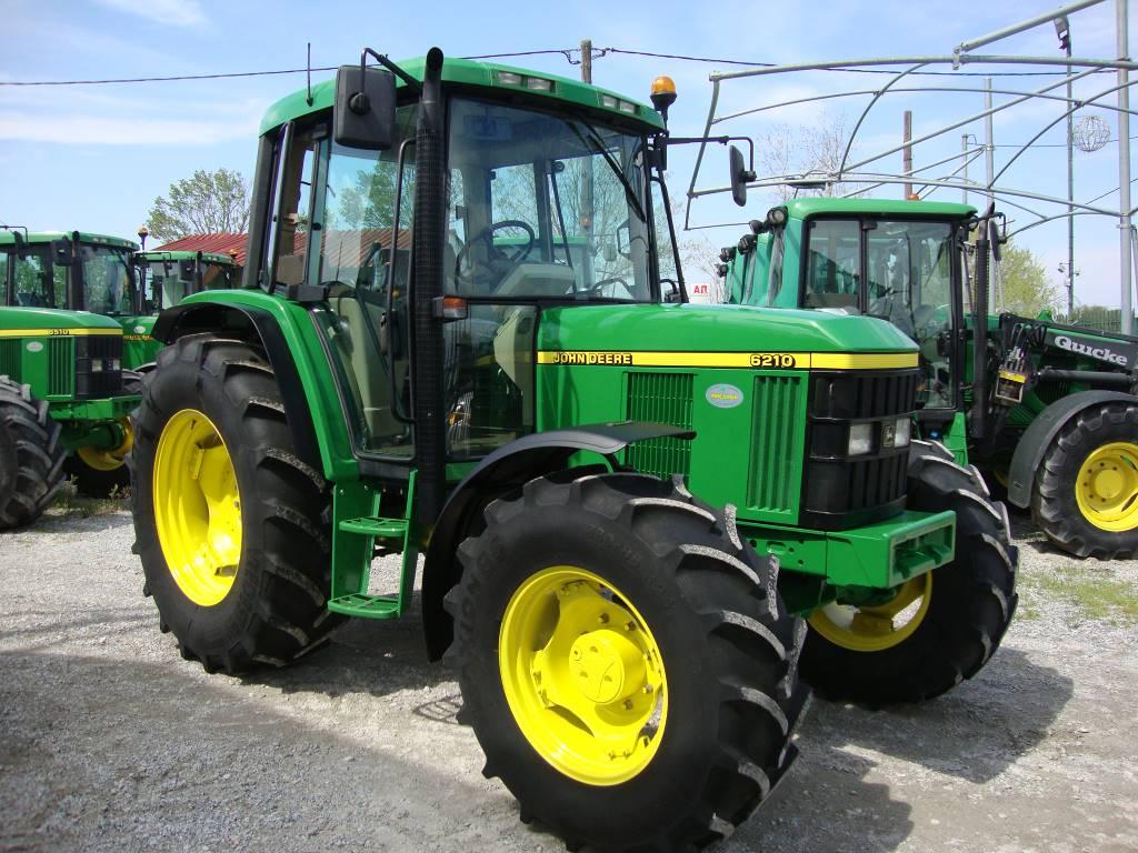 john deere 6210 baujahr 2001 gebrauchte traktoren gebraucht kaufen und verkaufen bei mascus. Black Bedroom Furniture Sets. Home Design Ideas