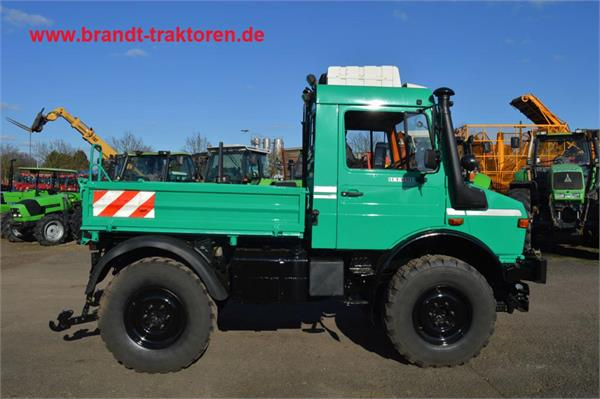 Used mercedes benz unimog u 1400 tractors year 1998 for Mercedes benz tractors