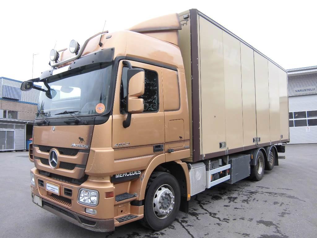 Mercedes benz actros 2548l 6x2 48 year 2010 box for Mercedes benz actros usa