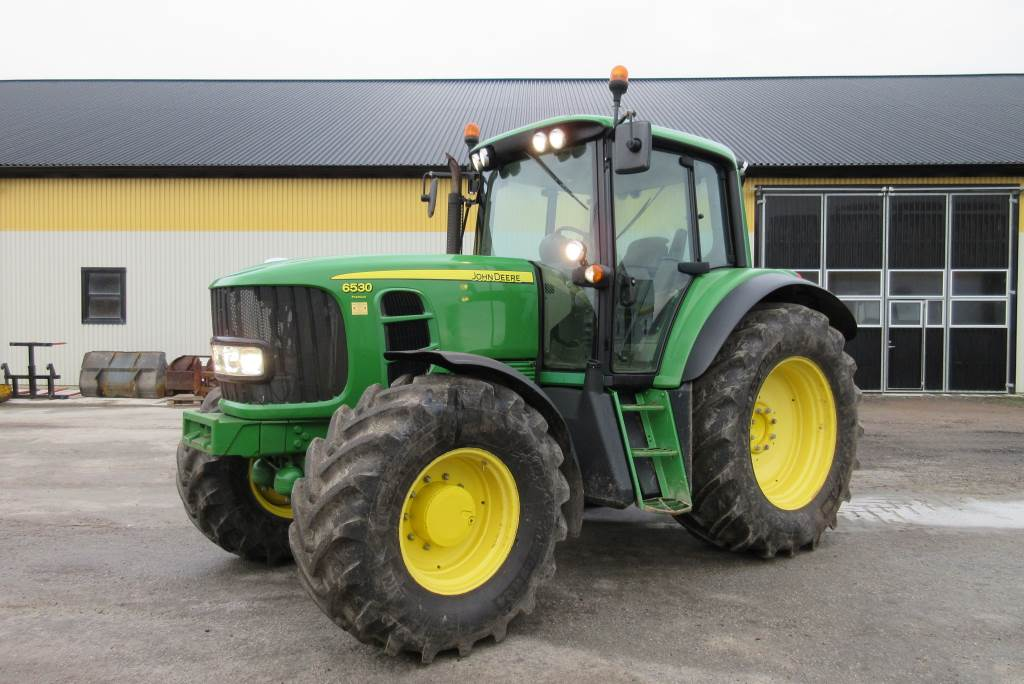 used john deere 6530 premium traktor tractors year 2008. Black Bedroom Furniture Sets. Home Design Ideas