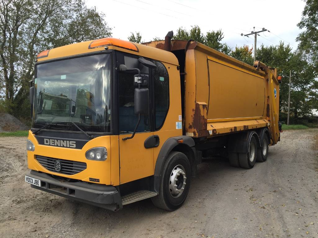 Right Hand Drive Vehicles For Sale >> Used Dennis elite garbage Trucks / Recycling Trucks Year ...