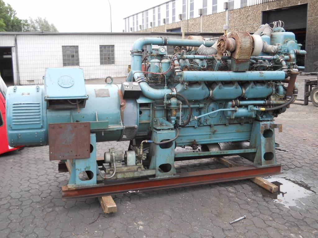 kromhout 12tvd128 12 tvd 128 emmerich baujahr 1966 diesel generator gebraucht kaufen und. Black Bedroom Furniture Sets. Home Design Ideas
